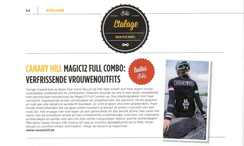 Magic12 combo review in de etalage van cycling.be 1