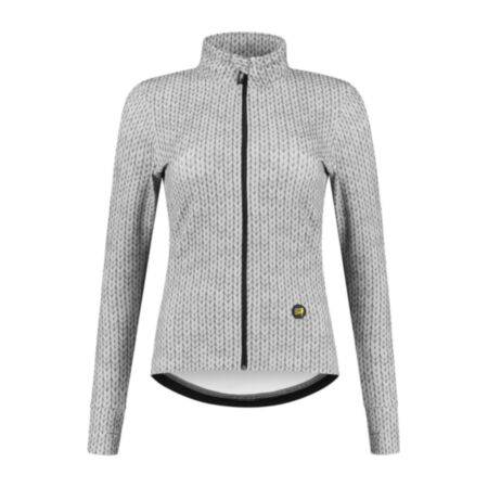 Canary Hill Siberia cycling jersey long sleeves ladies grey