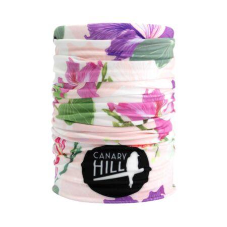 Canary Hill Bloom Lila Bandido Haarband Nekwarmer